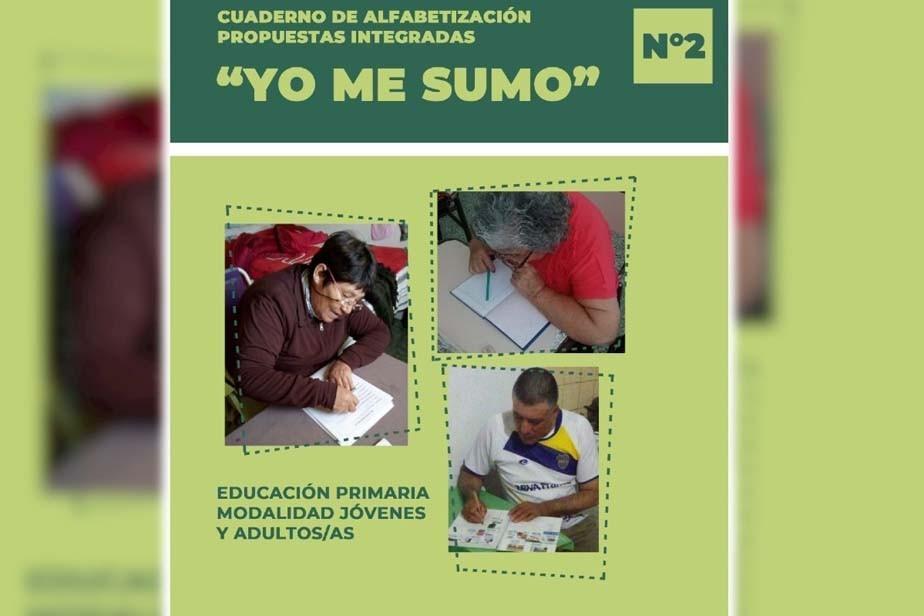 Llega la segunda edición del cuaderno de alfabetización «Yo me sumo»