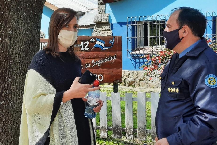 Nutrida agenda de trabajo de Minor en sus visitas a Bariloche y El Bolsón