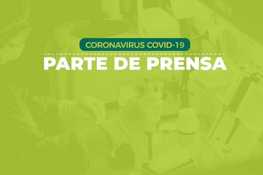 COVID-19: Parte de prensa (16/01)
