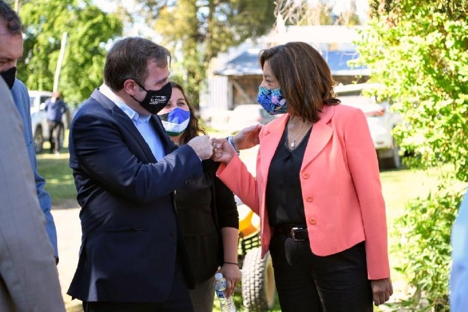Carreras se solidarizó con el Intendente Pogliano, víctima de amenazas