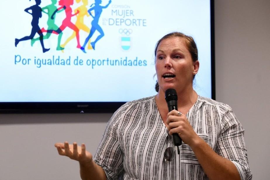 Mujeres, deporte y bullying: la olímpica Jennifer Dahlgren dará una charla abierta en Río Negro