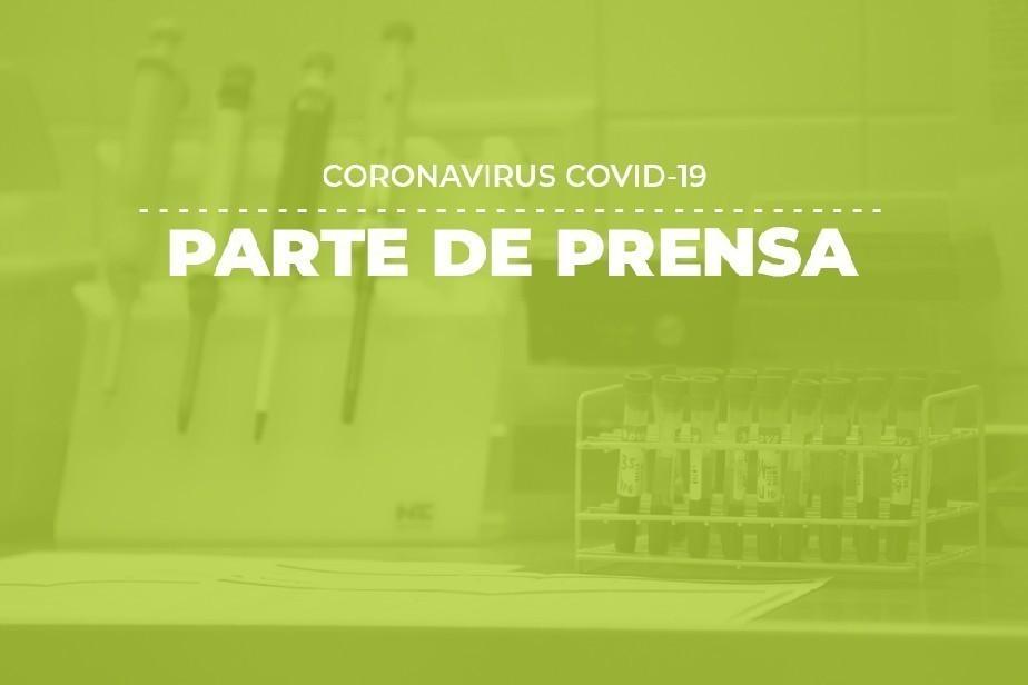 COVID-19: Parte de prensa (09/05)